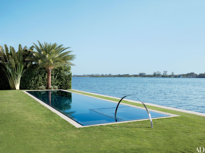 These modern pools make a minimalist splash palm beach for Design pool klein