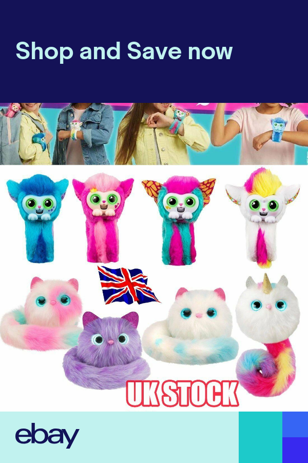 Little Live Cats Wrapples Princeza Slap Band Toy Pink Slap Wrist Band Pets L Boo Stuffed Animal Fur Real Friends Interactive Puppy