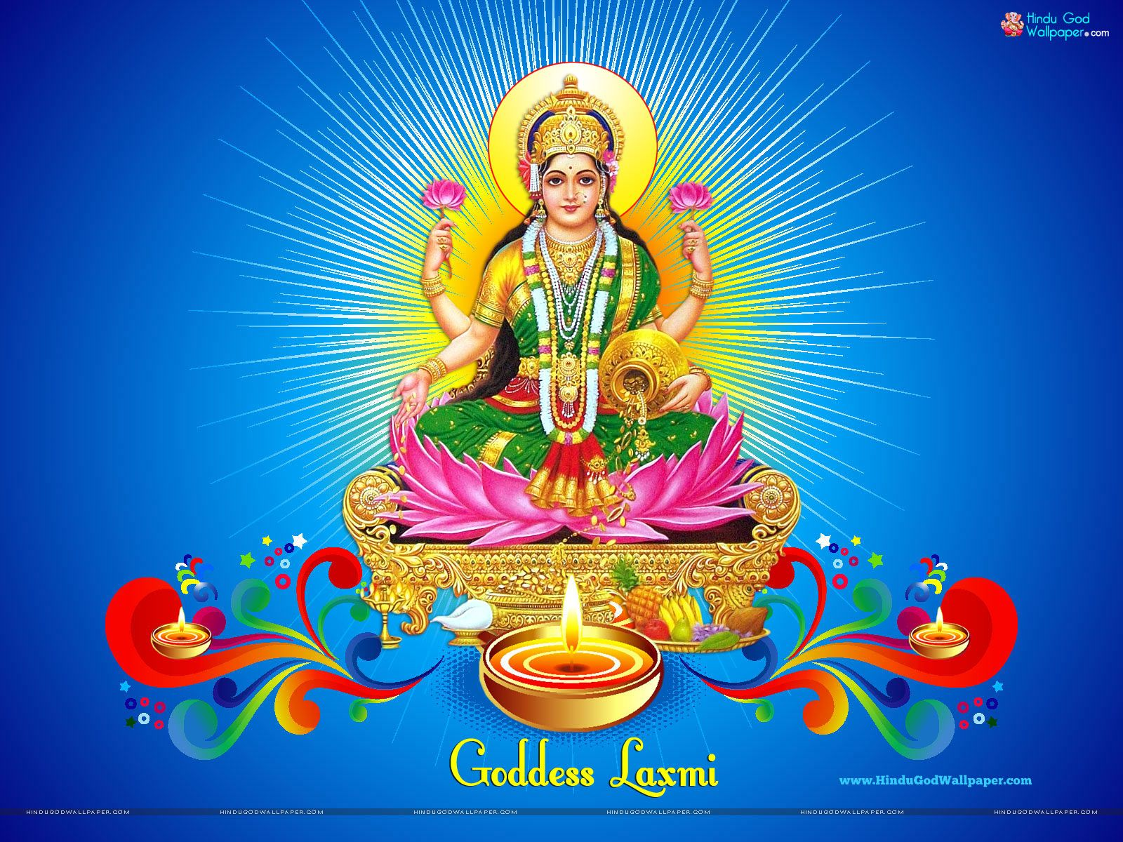 Goddess Laxmi HD Wallpaper Full Size High Resolution ...