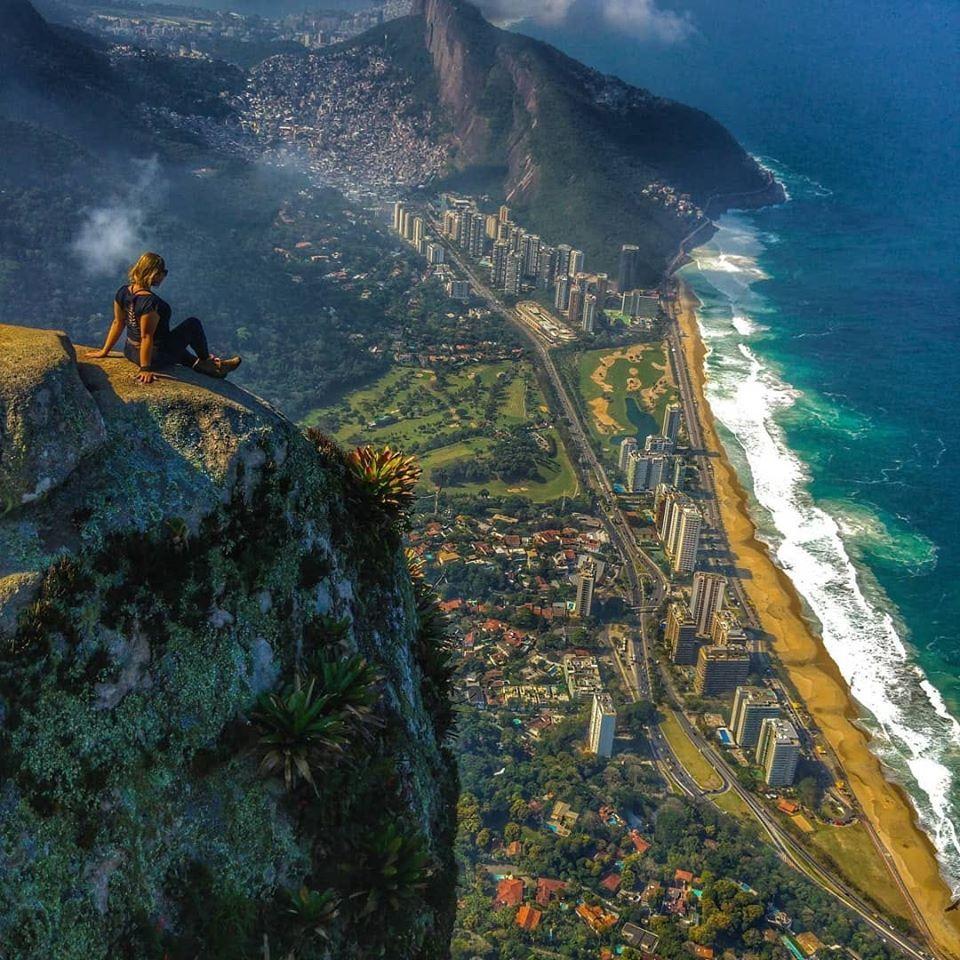 Pedra da Gavea - Rio - Brazil | Brazil, Natural landmarks, Rio