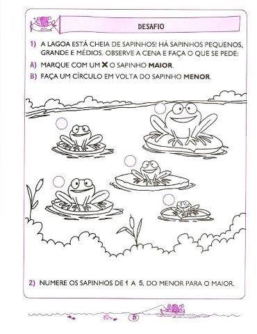 136 Atividades De Matematica Para 5 E 6 Anos Educacao Infantil