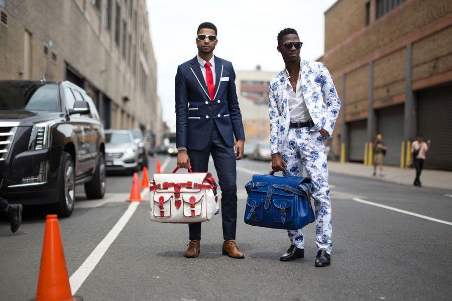 Street Fashion New York Fashion Week Men S Wiosna Lato 2018 Mens Street Style Spring Mens Street Style Spring Street Style