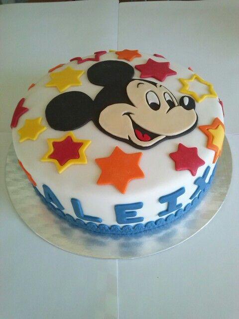 Tarta Mickey Mouse #fondant