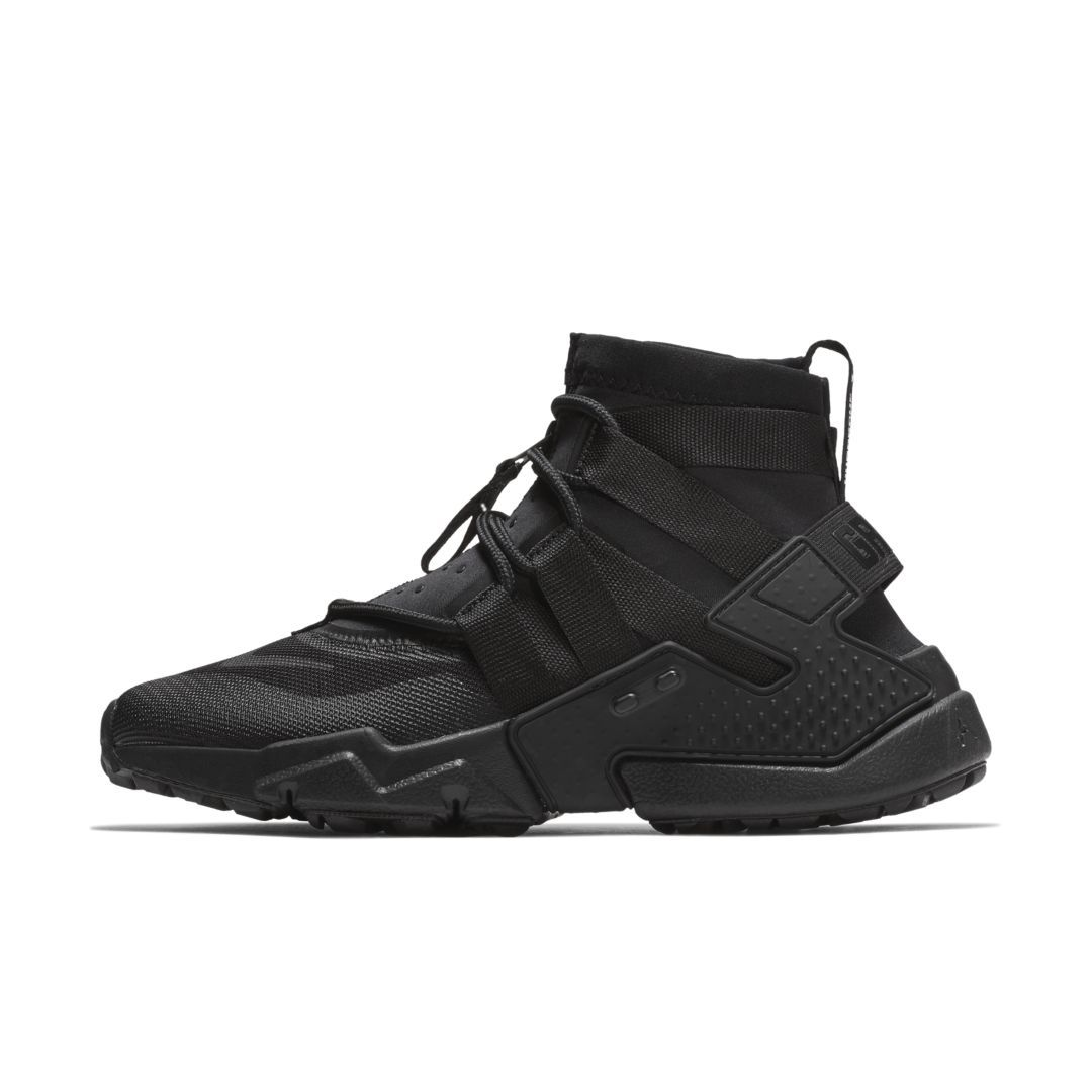 c4a26a6b8ff5 Nike Air Huarache Gripp Men s Shoe Size 7.5 (Black)