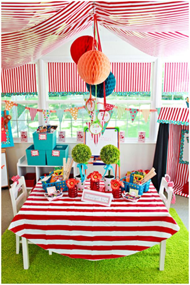 Superb Circus Themed Decorations Ideas Part - 5: Carnival Classroom