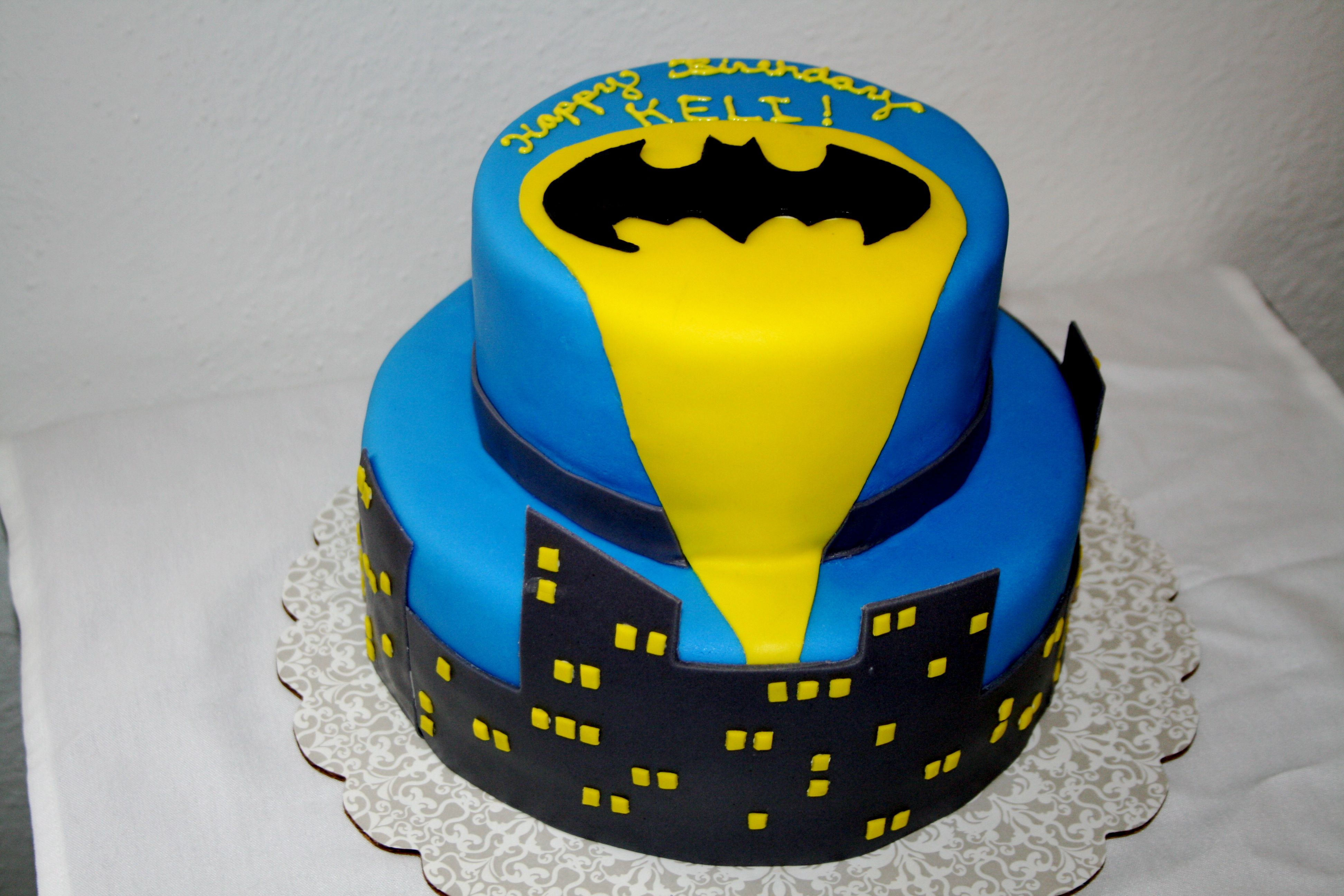 Holy chocolate buttercream Batman its an iPad Batman cakes