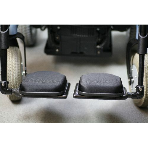 Synergel Gel Foot Protector Wheelchair Footrest Pack Of 2