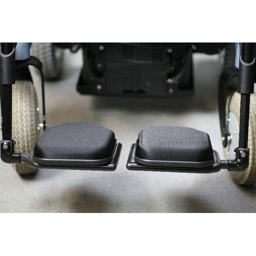 Synergel Gel Foot Protector Wheelchair Footrest Pack of 2