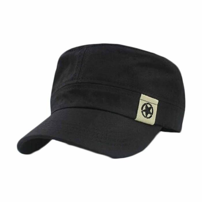 0c5dcdcf9be new Stylish Koreanstyle Flat Roof Hat For Man