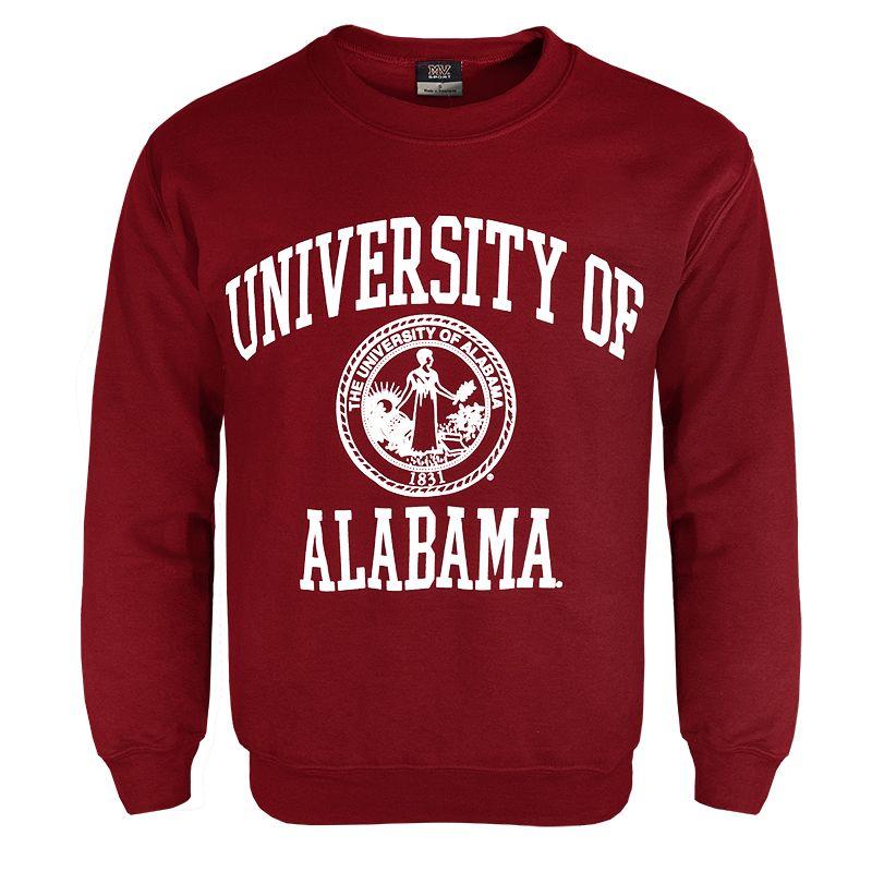 Crew Alabama Seal Sku 1265354643 Alabama University Of