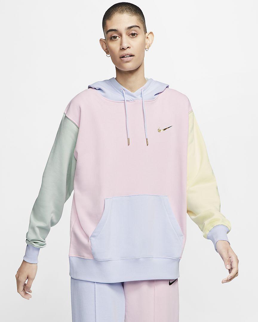 Nike Sportswear Women S Swoosh Pullover Hoodie Nike Au Nike Sportswear Women Nike Long Sleeve Nike Sportswear [ 1080 x 864 Pixel ]