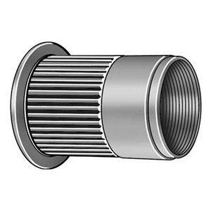 Rivet Nut Stl 3 8 16 0 938 L Pk20 By Pop 11 85 Flanged Knurled Rivet Nutsprovide An Efficient Cost Effective Zinc Plating Zinc Home Hardware