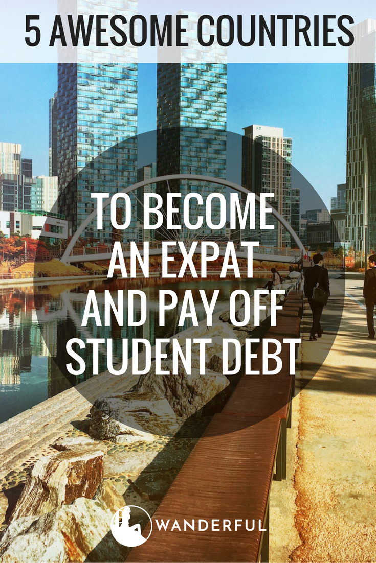 Student Debt? Move Abroad and Pay off Your Student Loans in These 5