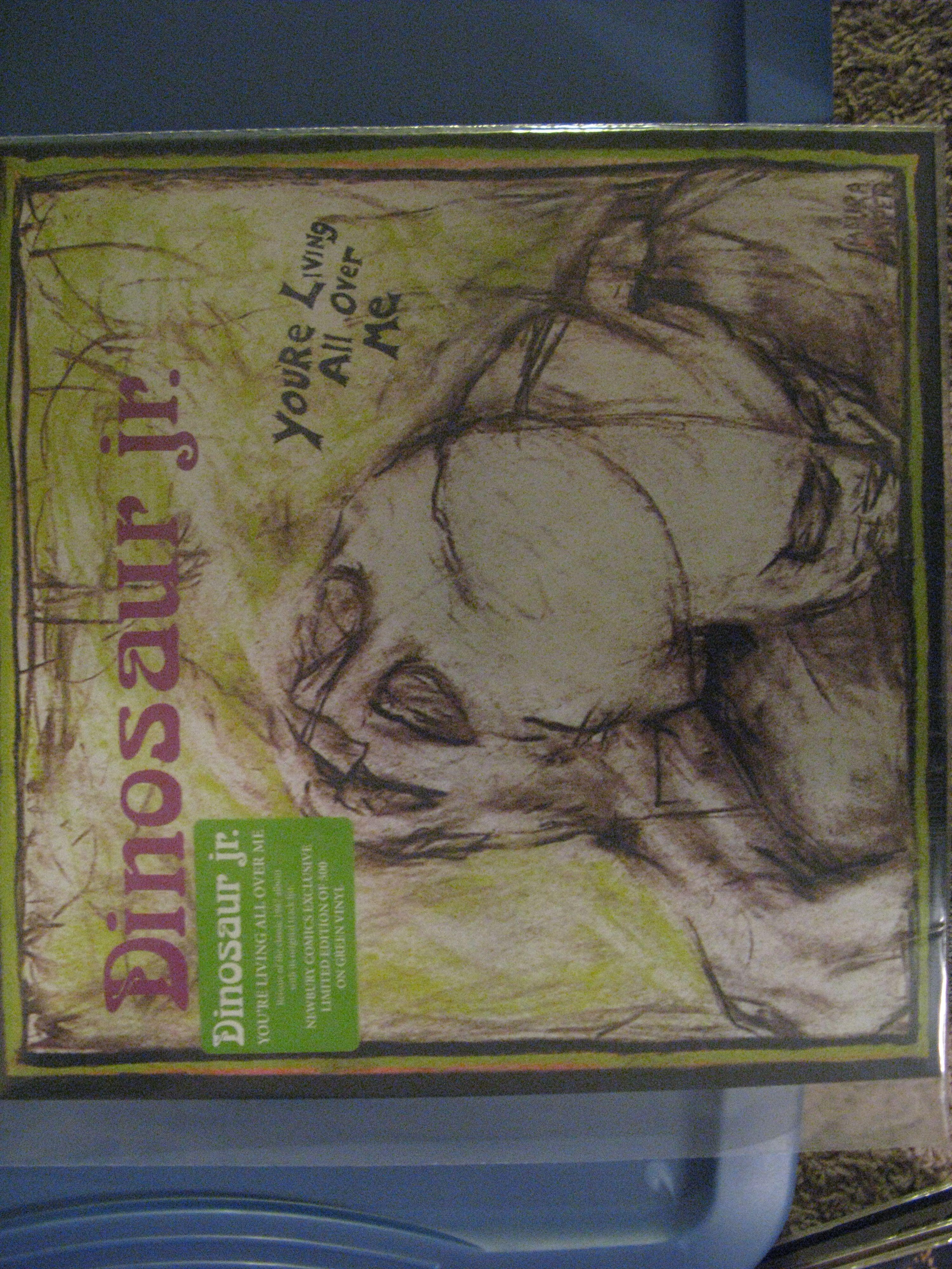 Dinosaur Jr You Re Living All Over Me Newbury Comics Colored Vinyl Vinyl Record Collection Dinosaur Jr Newbury Comics