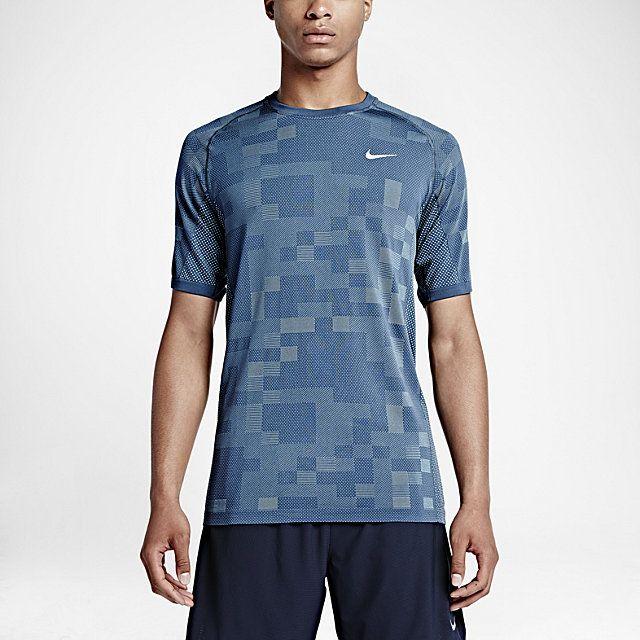 ナイキ Dri Fit ニット コントラスト メンズ ランニングシャツ Nike Store Jp Run