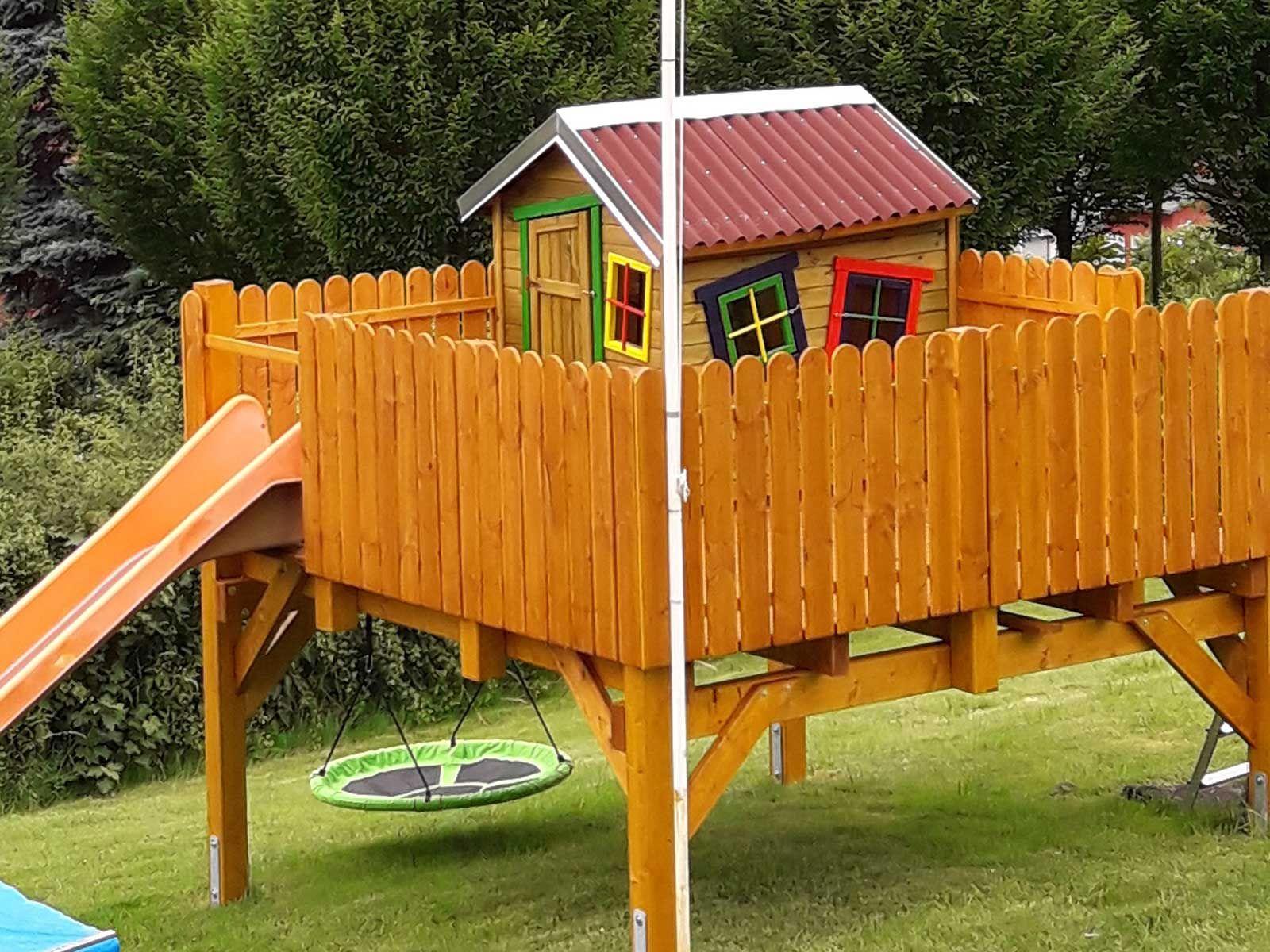 Pin auf Spielhaus & Stelzenhaus