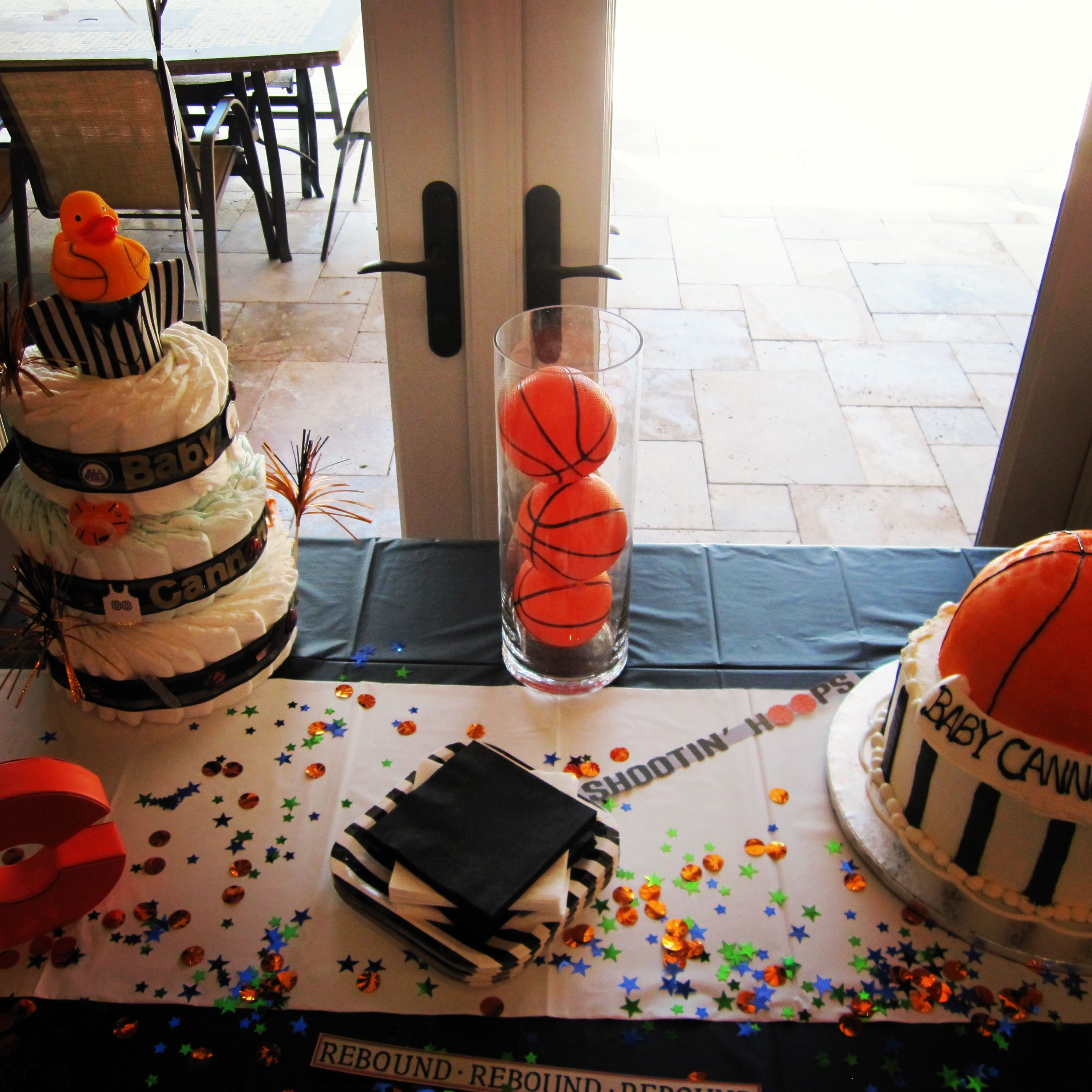 Best 25 Basketball Baby Shower Ideas On Pinterest