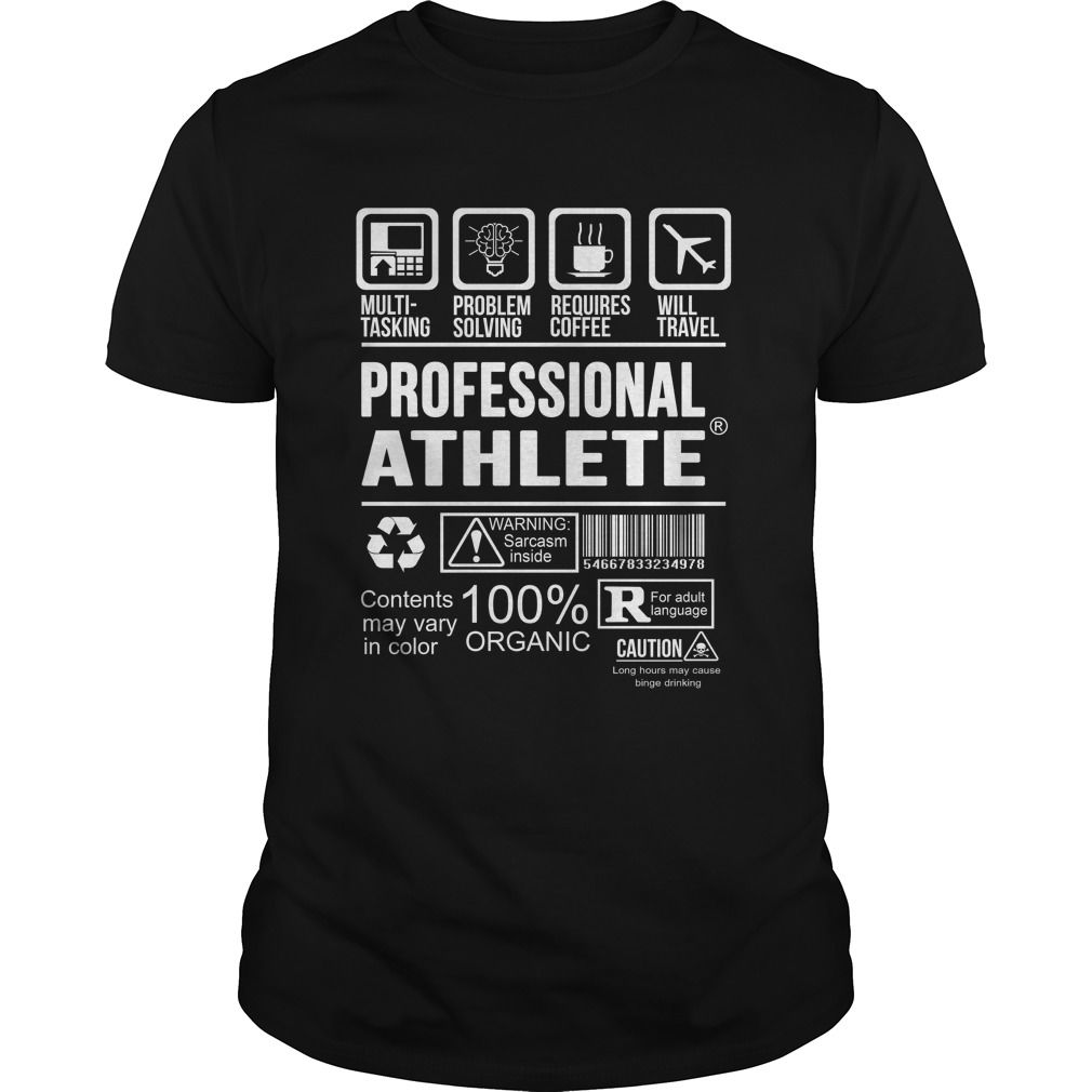PROFESSIONAL-ATHLETE - ***How to ? 1. Select color 2. Click the ADD TO CART button 3. Select your Preferred Size Quantity and Color 4. CHECKOUT! If You dont like this shirt you can use the SEARCH BOX and find the Custom Shirt with your Name!! (Athlete Tshirts)