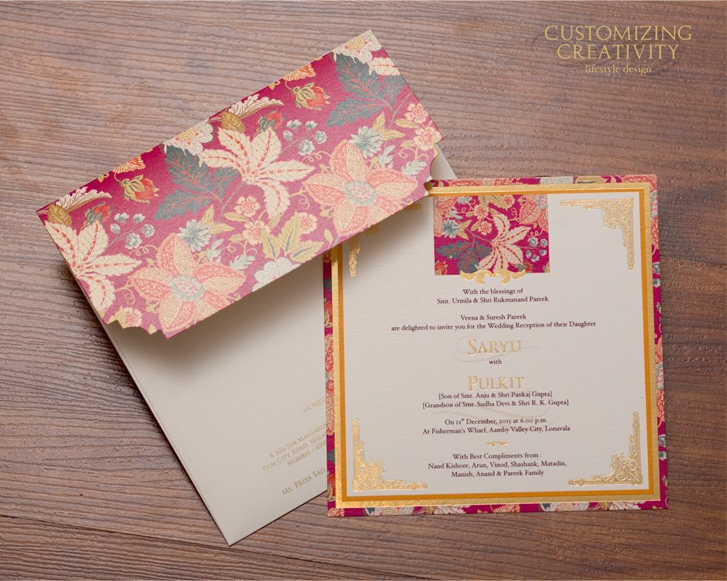 Wedding Invitation cards, Indian wedding cards, invites, Wedding  Stationery, Customized … | Indian wedding invitation cards, Wedding cards, Wedding  invitation cards