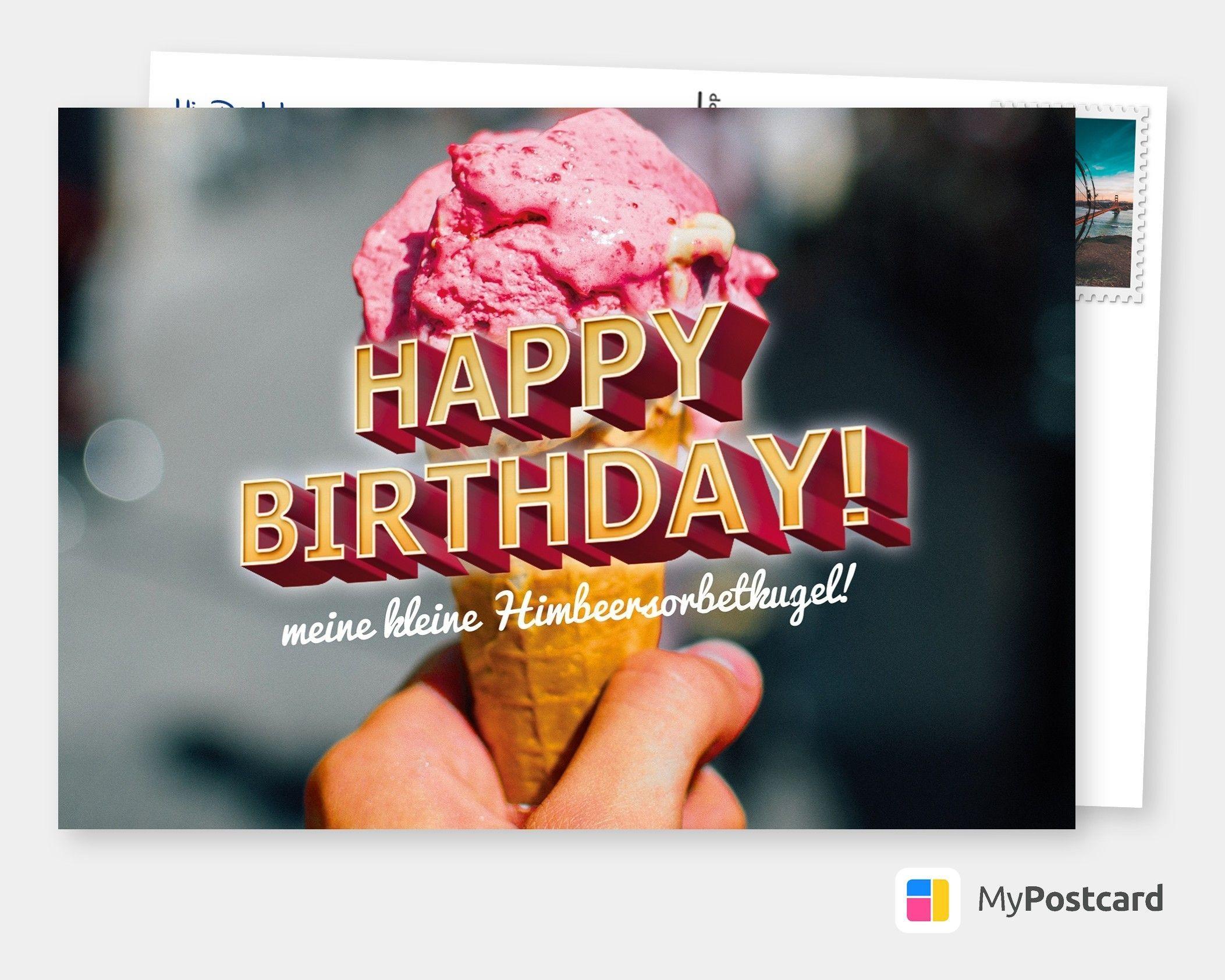 Karte Zum Geburtstag Geburtstagsgrusse Geburtstagskarte