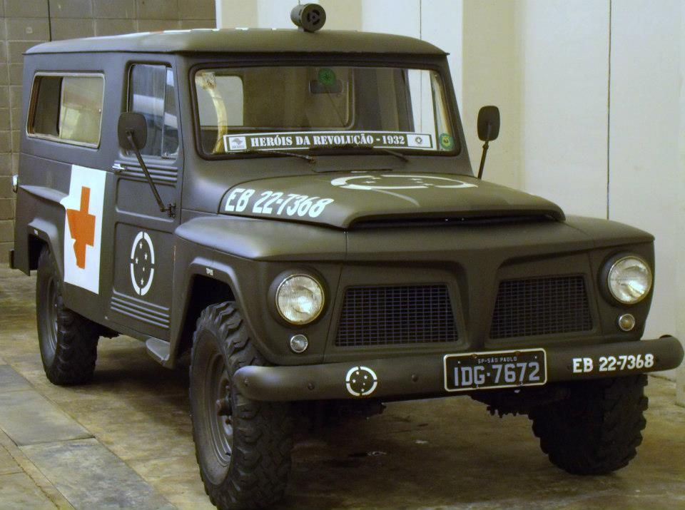 Former Ambulance The Brazilian Army Is A Rural Willys