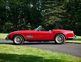 1960 Ferrari California sold at over 11 million Dollars at Pebble Beach auction