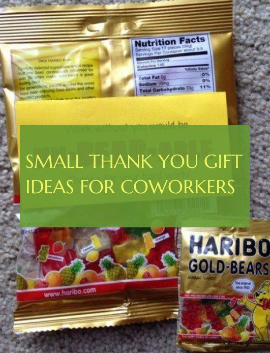 small thank you gift ideas for coworkers