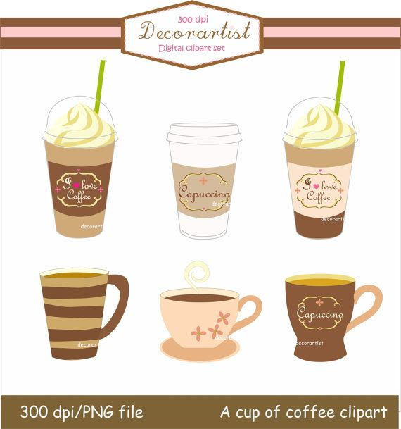 Digital Clip Art Coffee Cup A Cup Of Coffee Clip By Decorartist 4 50 Clipart See