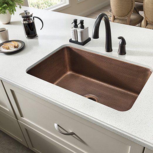 Sinkology Sk20230Ac Transitional Orwell Undermount Handmade Solid Mesmerizing Undermount Kitchen Sink Design Inspiration