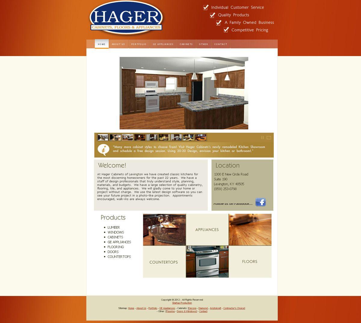 Lexington Tv Kast.Hager Cabinets Of Lexington Ky Custom Web Design Digital