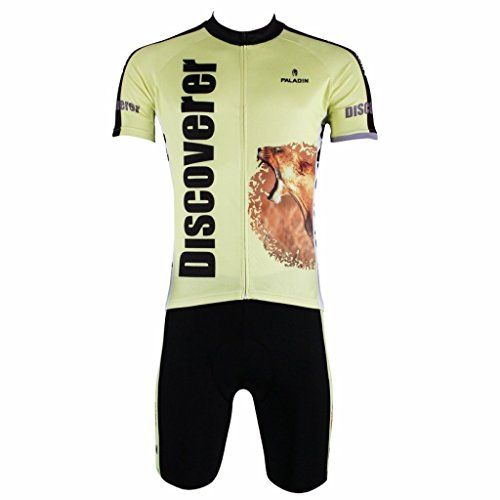 Paladinsport Mens Discovery Zebra Short Sleeve Cycling Jersey Set