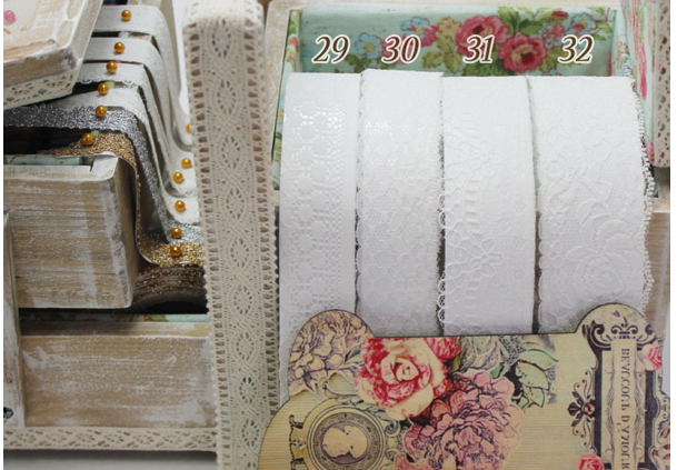 MochiThings.com: White Lace Pattern Fabric Tape v2