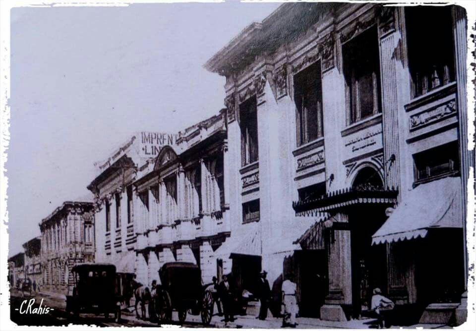 Resultado de imagen para fotos antiguas de libreria lehmann, san jose
