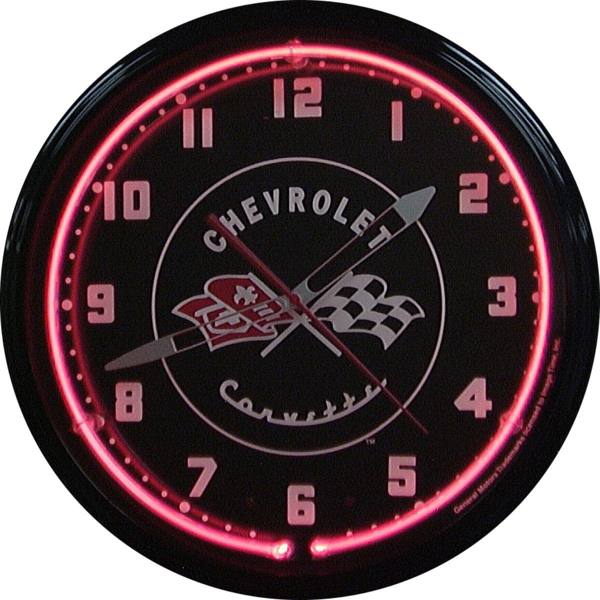 Legendaire Clock Neon Clock Wall Clock