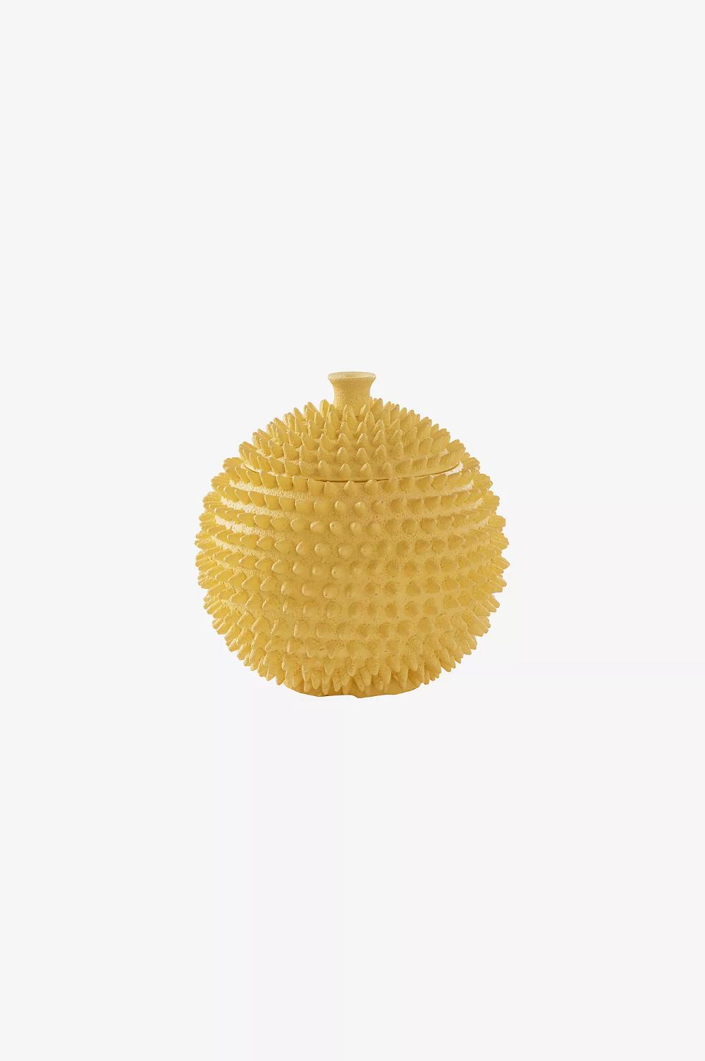 YAVA dekorativ krukke - lille - Gul - Dekoration - Jotex