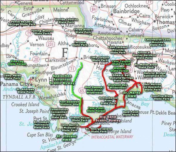 Florida Caverns State Park Map Map of Florida State Parks | map of florida caverns state park