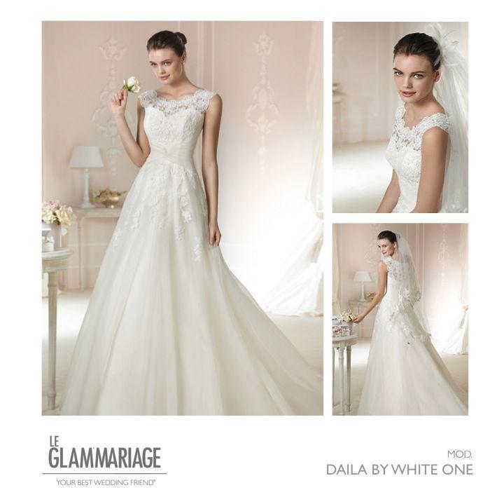 Vestido de novia modelo dalia