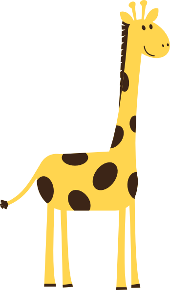 baby giraffe clipart 4 giraffe clip art baby free image 18660 rh pinterest co uk free pink giraffe clipart