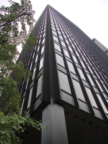 Ludwig mies van der rohe seagram building new york 1954 58 architecture nyc architecture - Beruhmte architektur ...