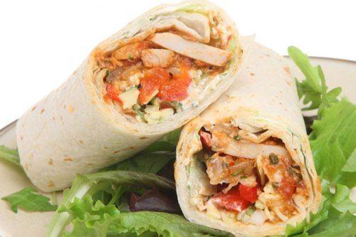 ساندوتش فاهيتا دجاج للدايت Fajitas Health Facts Food Chicken Fajitas