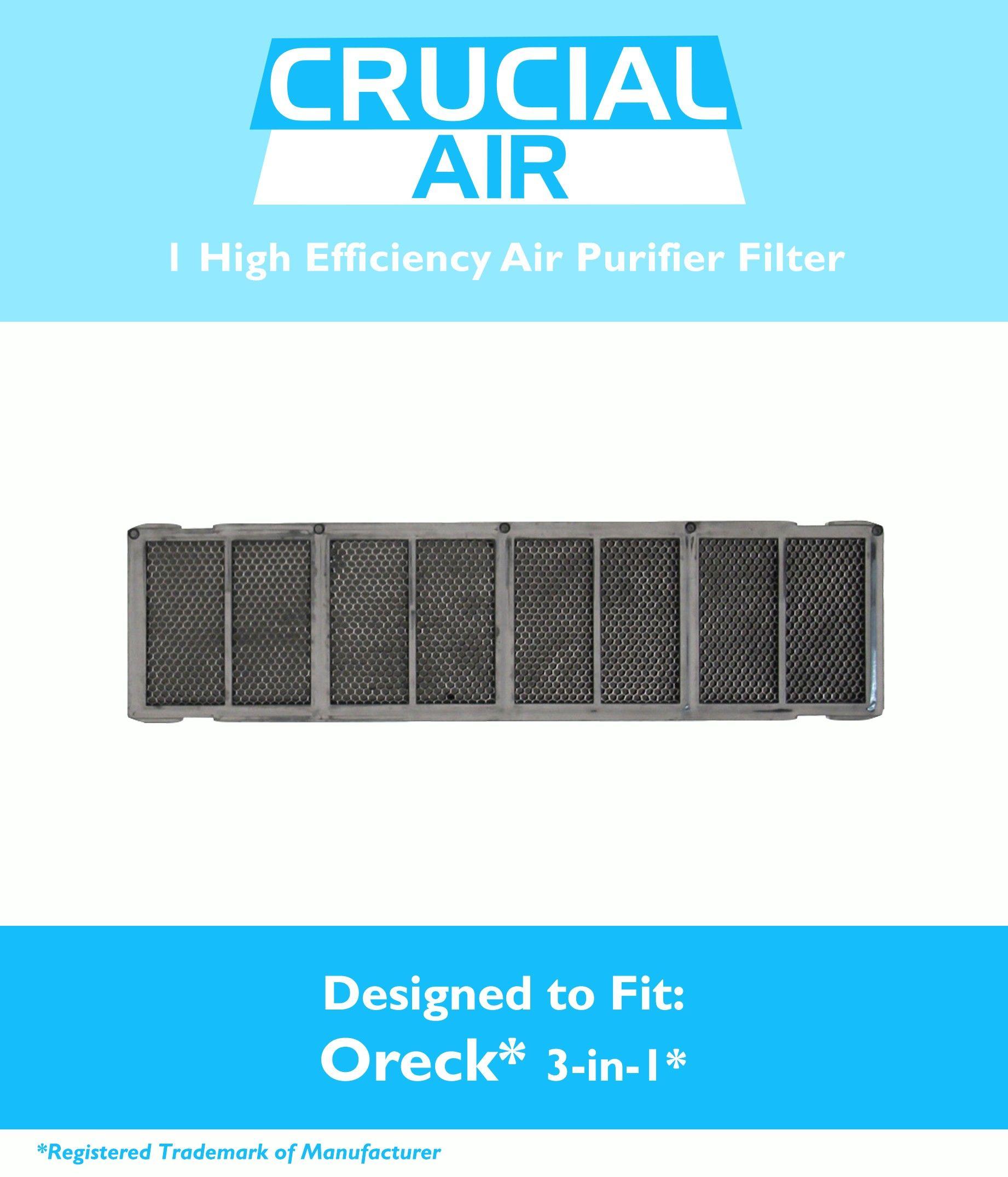 Oreck 3in1 Air Purifier Filter, Part AIR12B, AIRPS