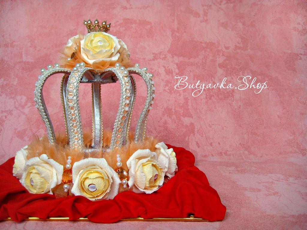 день рождения корона из конфет своими руками пошаговое фото бренд, который