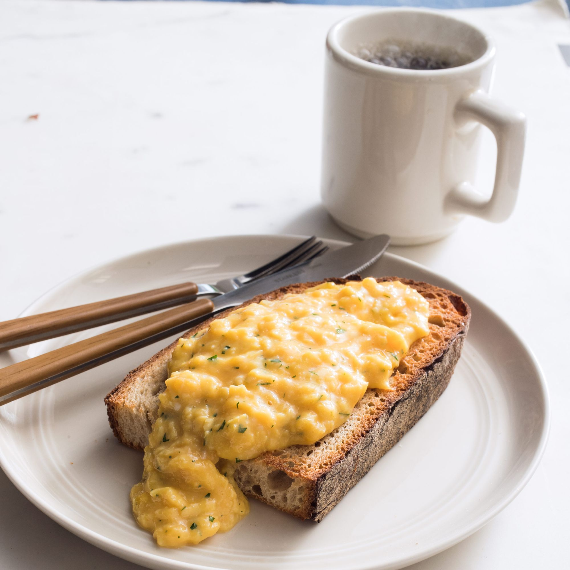 Country Style Scrambled Eggs Recipe: Creamy French-Style Scrambled Eggs. For Incredibly Lush