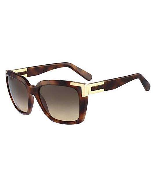 Womens Eye Sunglasses, Brown (Havana), 59 Chloé