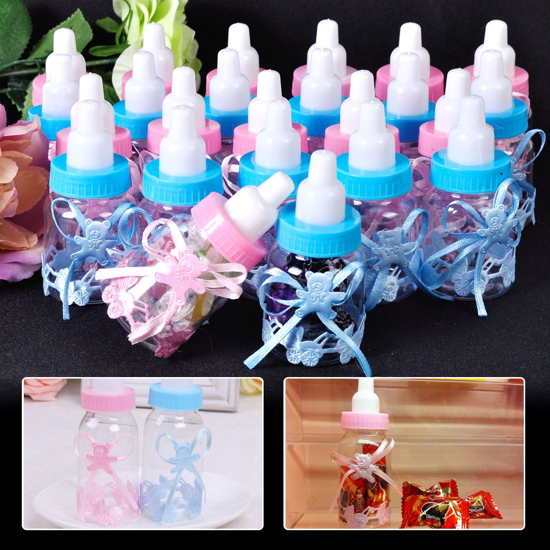 12x Baby Shower Candy Box Birthday Baptism Christening Party Favour Gift Boxes