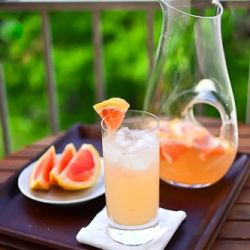 grapefruit margaritas by the pitcher... springtime!