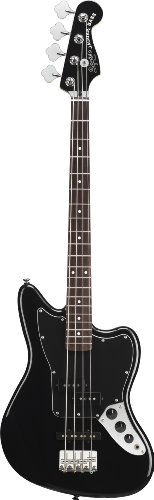 Squier by Fender Vintage Modified Jaguar Special Short Scale Bass, Black - http://www.learntab.com/guitar-deals/squier-by-fender-vintage-modified-jaguar-special-short-scale-bass-black/