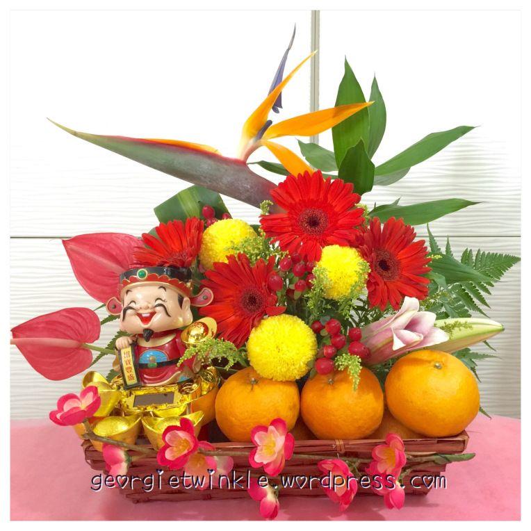 2016 Chinese New Year Flower Arrangement Chinese new