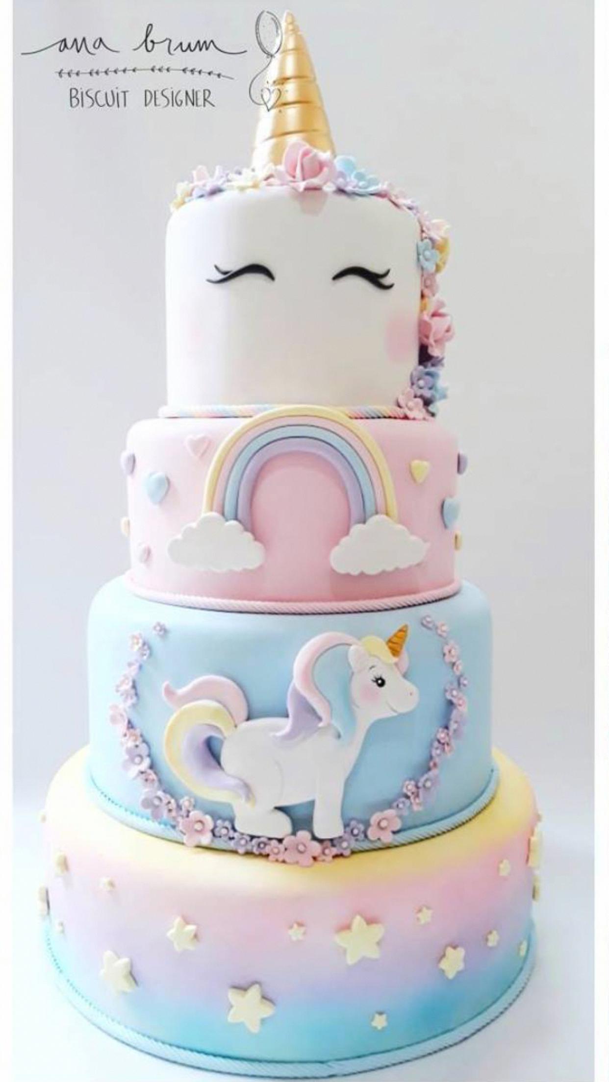 Breton Buckwheat Cake Clean Eating Snacks Recipe In 2020 Unicorn Birthday Cake Birthday Party Cake Cake Designs Birthday