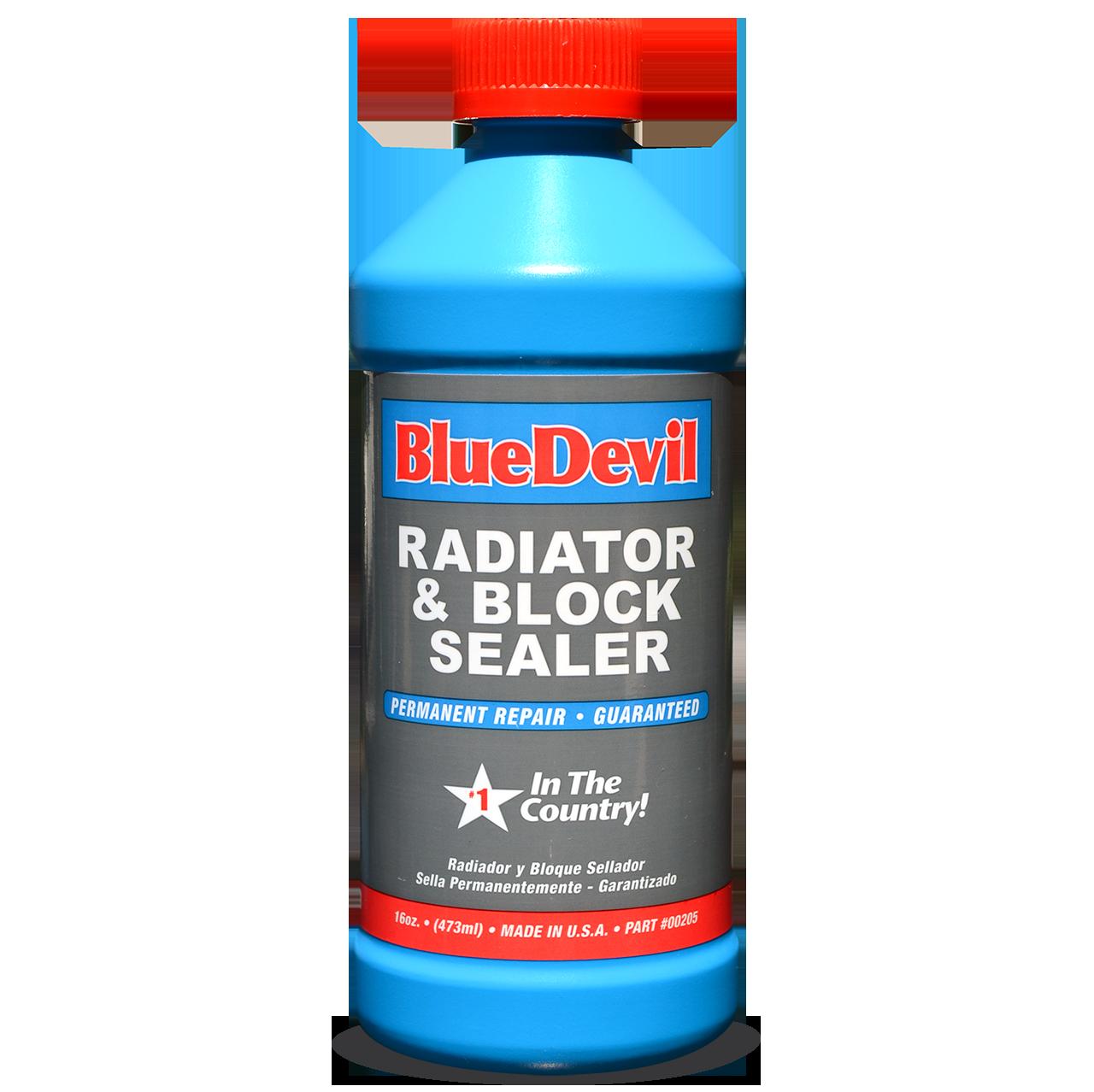 Radiator Leak Sealer Bluedevil Radiator Block Sealer